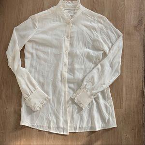 Sézane silk blouse, perfect condition!